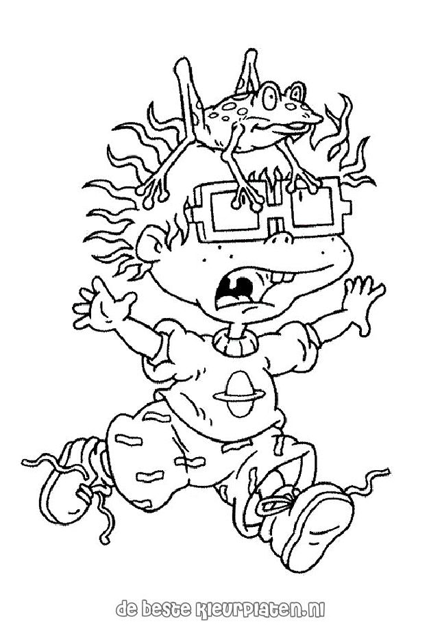Rugrats Color Page Cartoon Pages You Can Print For Coloring