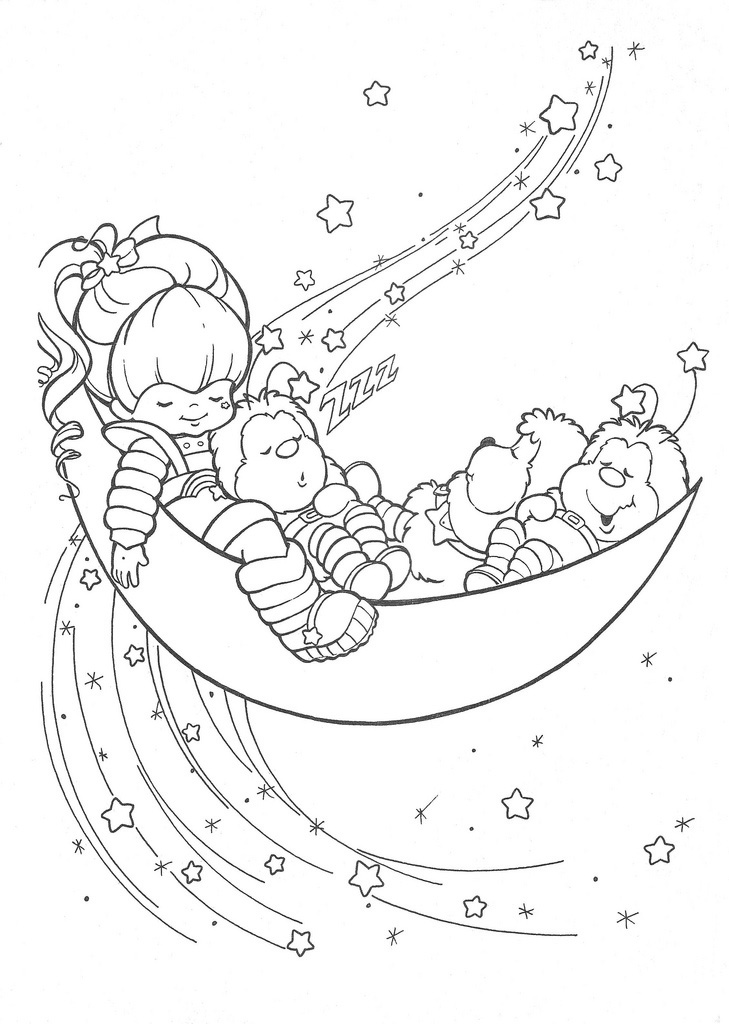 rainbow bright coloring pages - rainbow bright coloring pages az dibujos para colorear