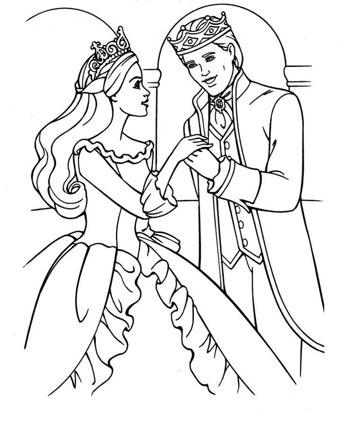 barbie cat coloring pages - photo#9