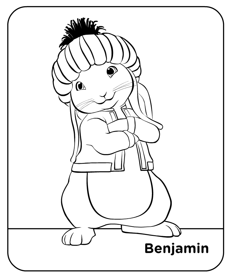 peter rabbit cartoon coloring pages - photo#34
