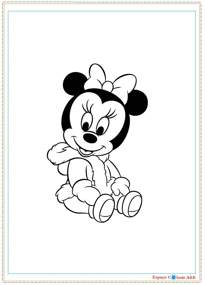 Free Download Pin Baby Disney Mickey Minnie Donald Margarida