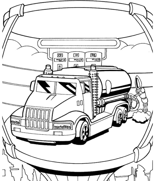 hot wheels coloring pages   car hot wheels repair and feul