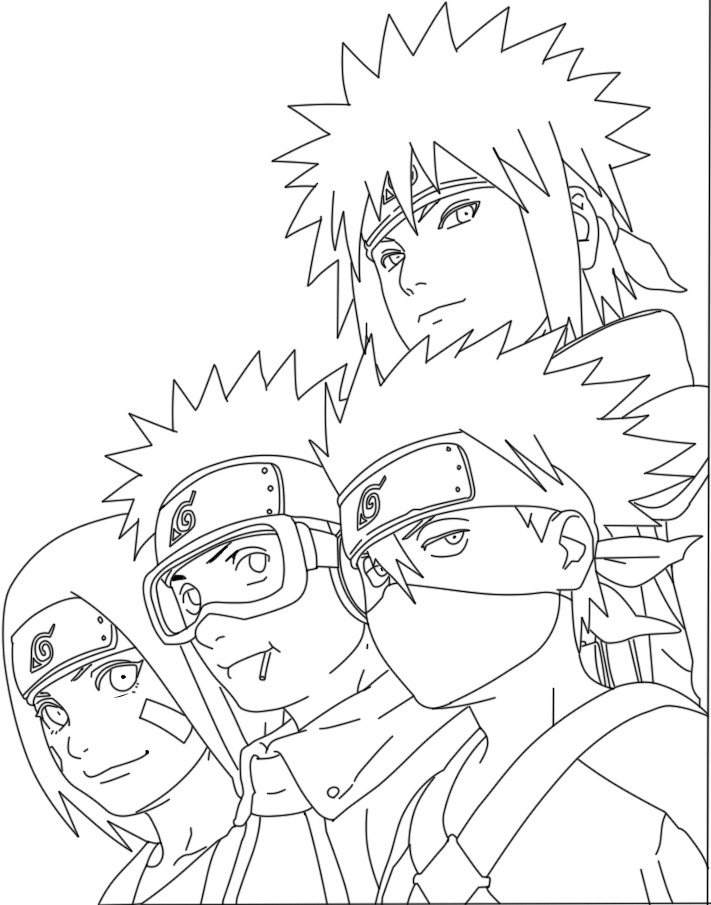 how to draw naruto doing rasengan step by step