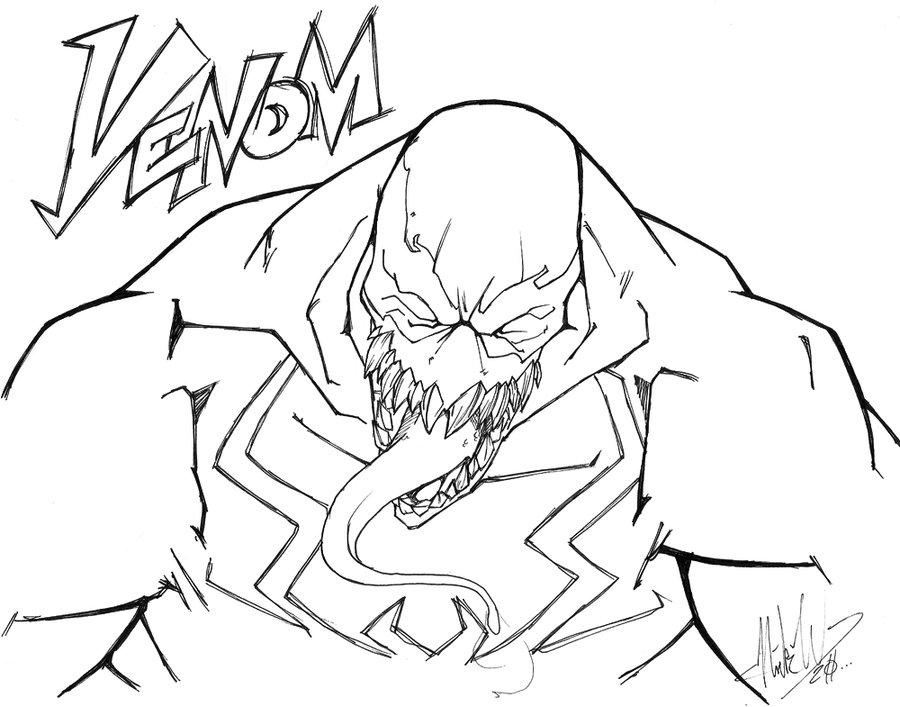 deviantART: More Like The Amazing Spider-Man Venom Concept sketch