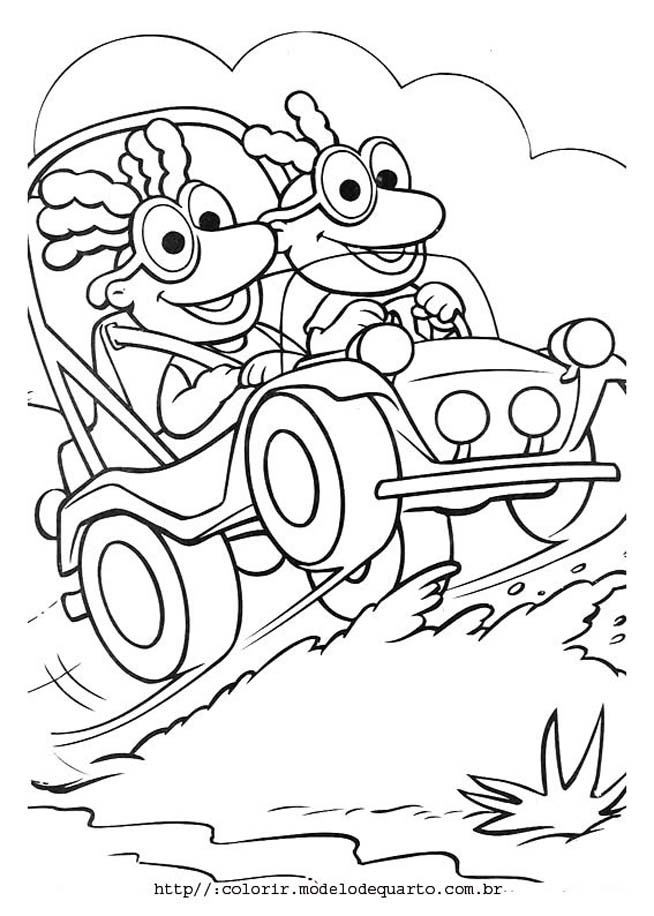 Muppet Baby Characters Lowrider Car Pictures