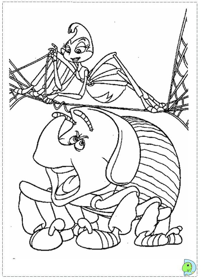 Printable a bugs life coloring pages coloring pages az for Bugs life coloring pages