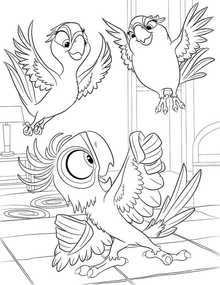 rio pedro coloring pages - photo#27