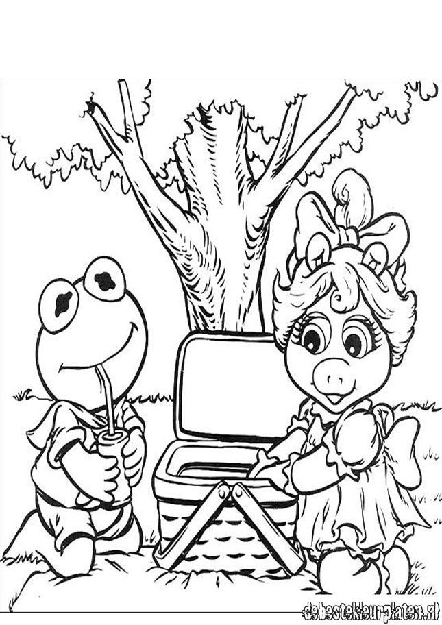 the muppets christmas Colouring Pages
