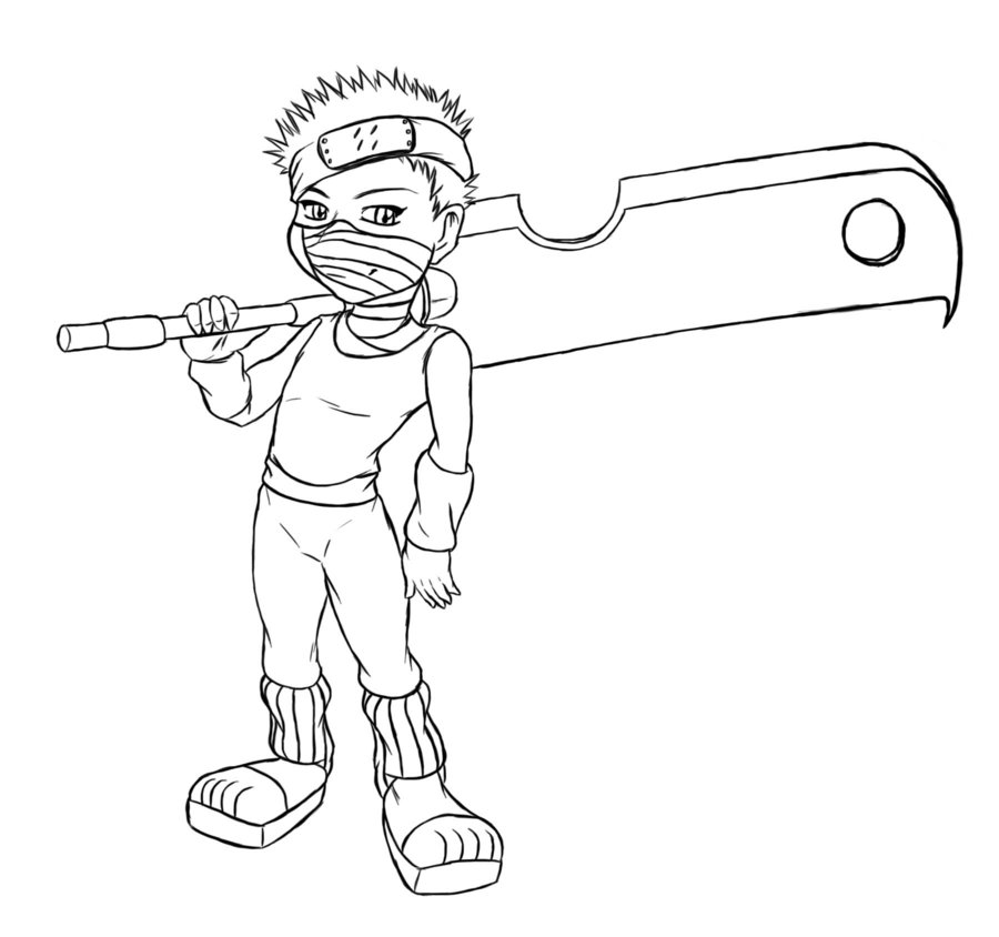 online naruto coloring pages - photo#32