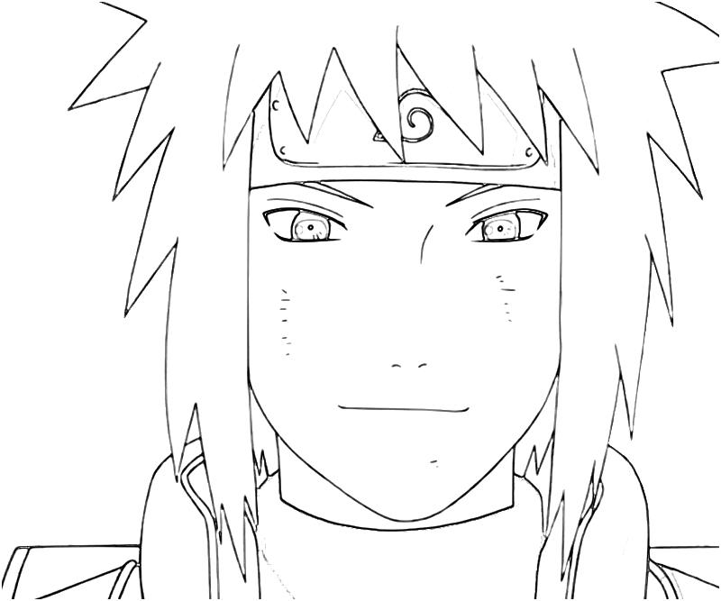 Minato Doing Rasengan Coloring Pages Crokky Coloring Pages