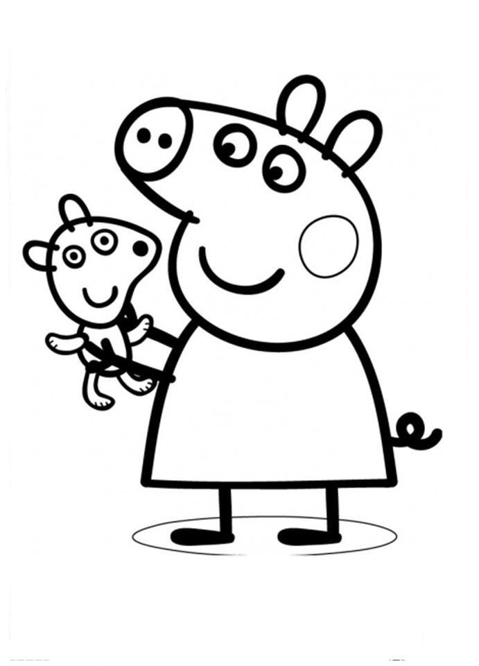 ping pig Colouring Pages (page 2)
