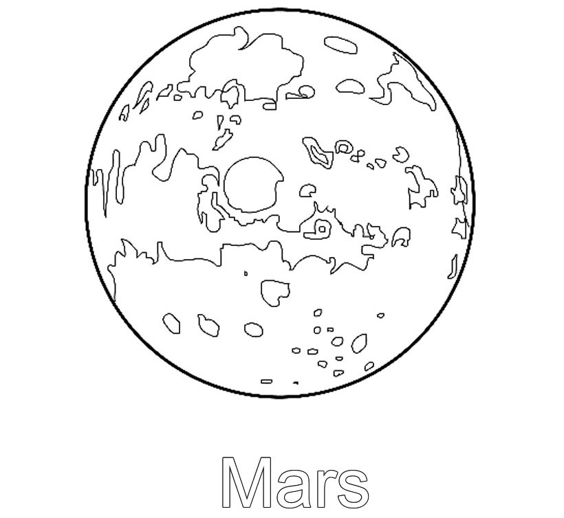 funny mars coloring page source zzb high res