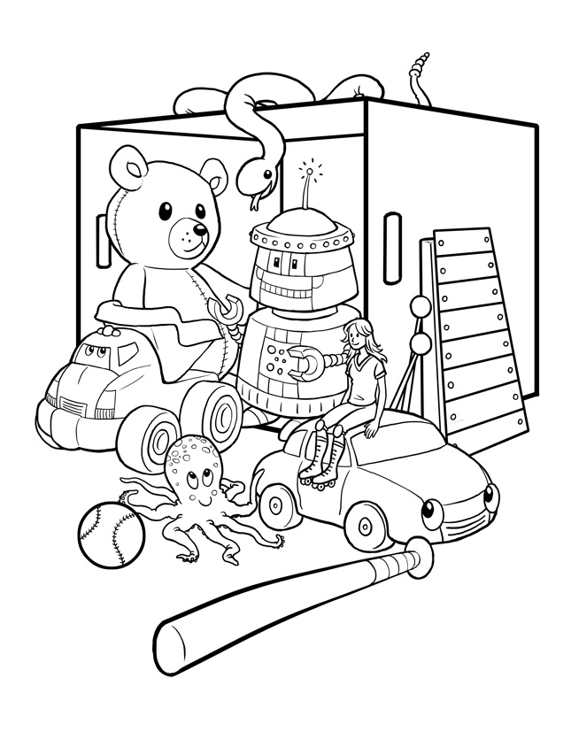 toys coloring pages preschool - toys coloring page preschool coloring pages