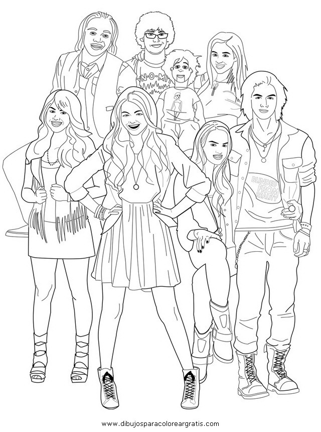 i carley coloring pages - photo#46