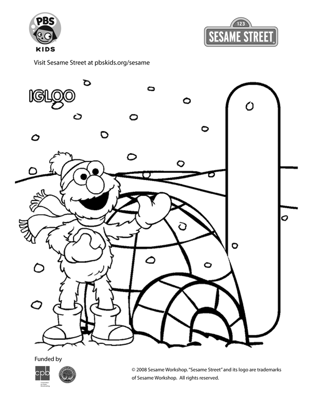 Sesame street pbs kids az dibujos para colorear for Pbs sprout coloring pages