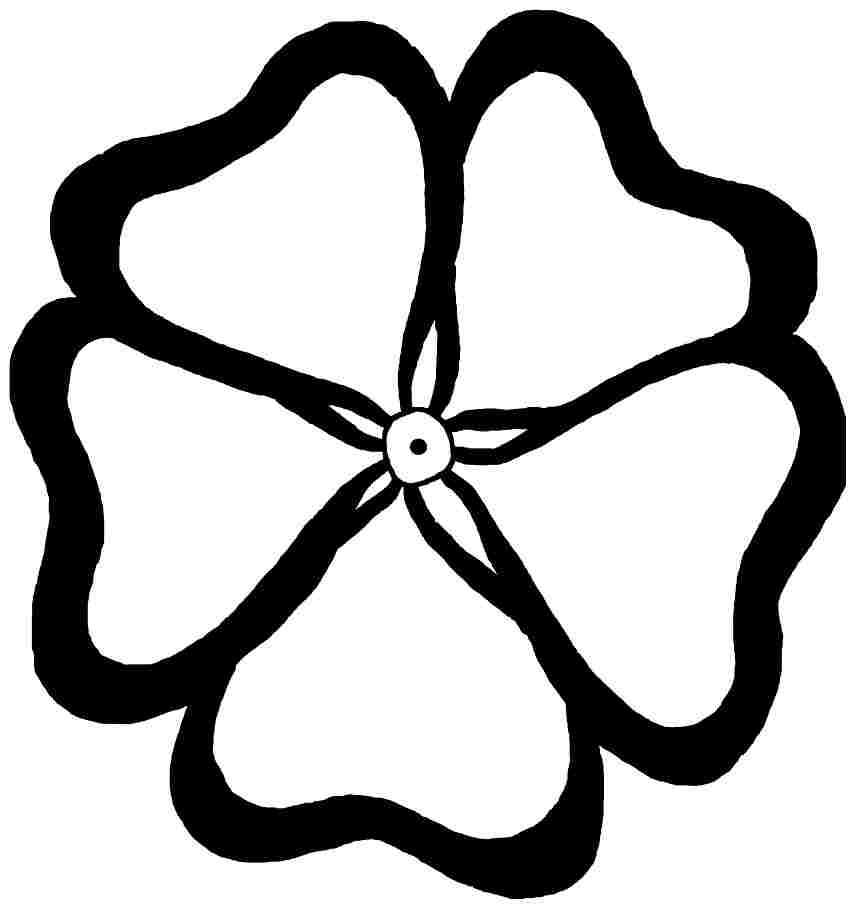 Printable free buttercup flowers coloring pages for for Buttercup flower coloring pages