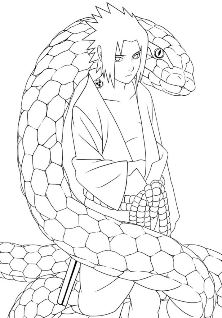Naruto for colorir online Colouring Pages (page 2)