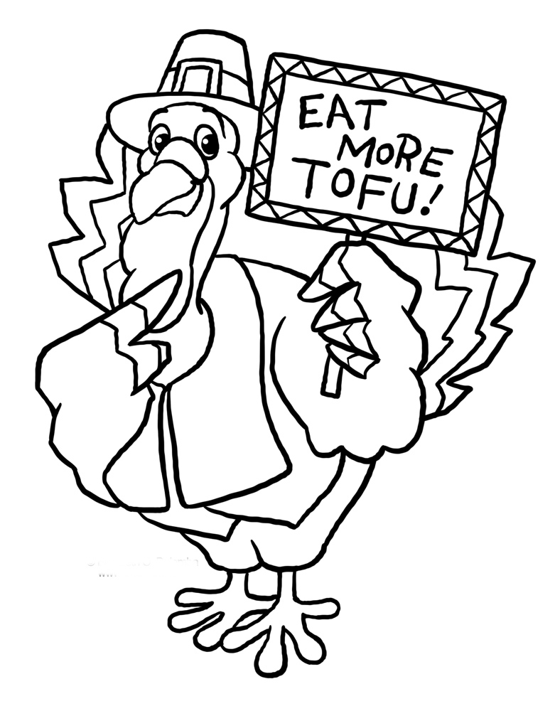 thanksgiving coloring pages funny clowns - photo#19