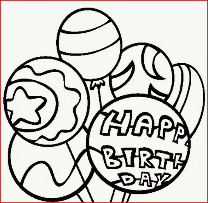 Free Happy Birthday Minion Coloring Pages