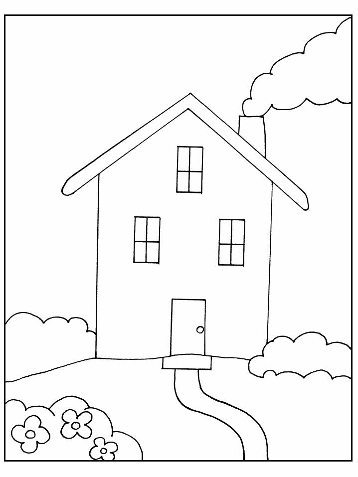 casas de parlament Colouring Pages