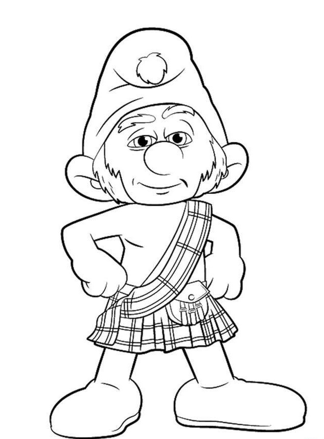 The Smurfs Coloring Pages And Book - Kids Coloring Pages ...