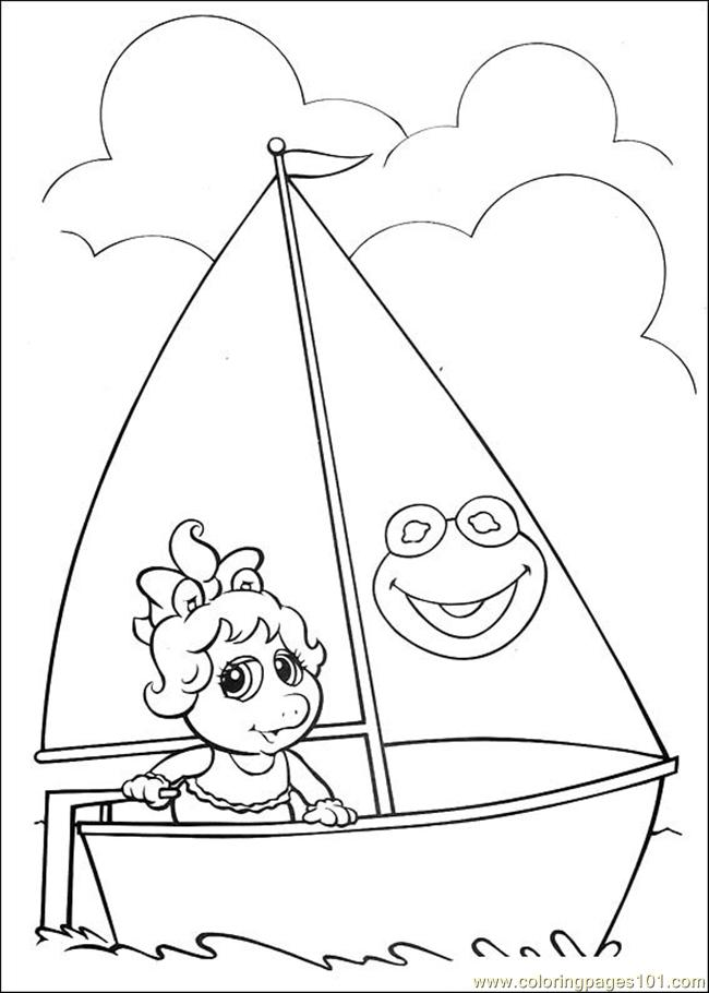Free Printable Coloring Pages Muppet Babies