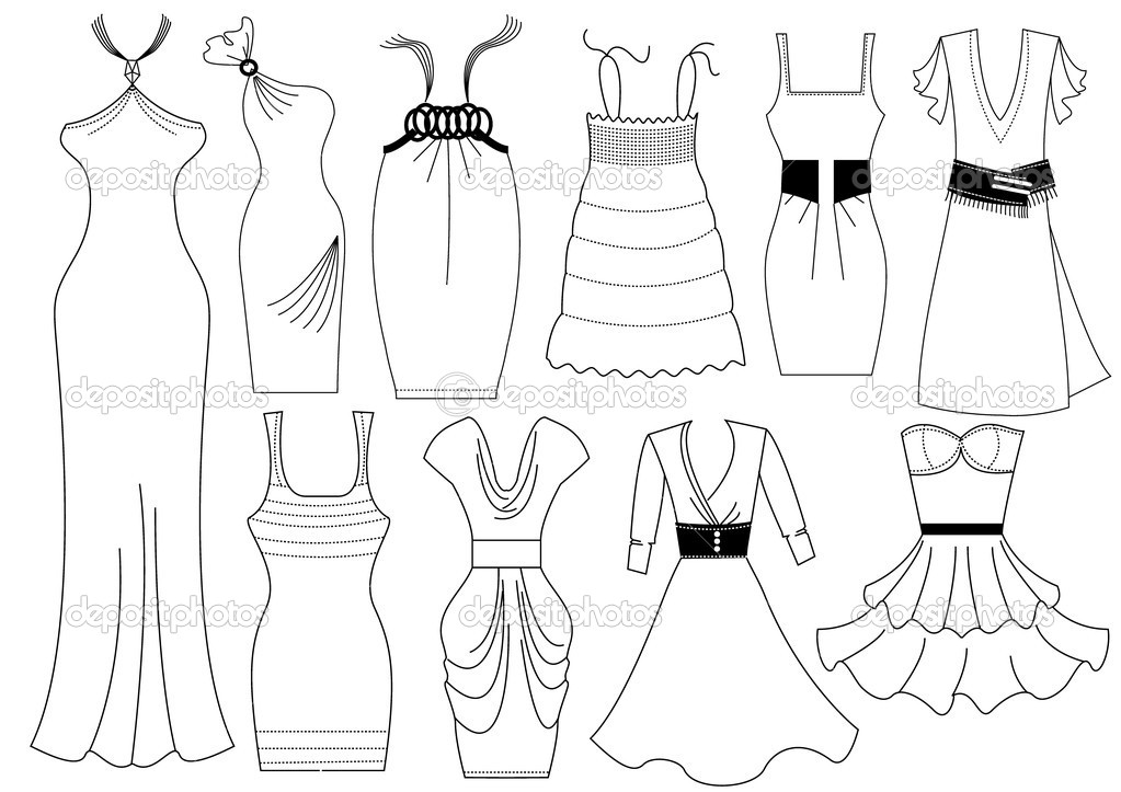 Coloring Design Fashion Coloring Pages
