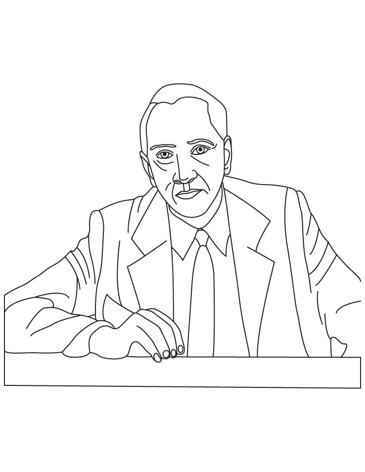Alexander Fleming coloring pages | Download Free Alexander Fleming