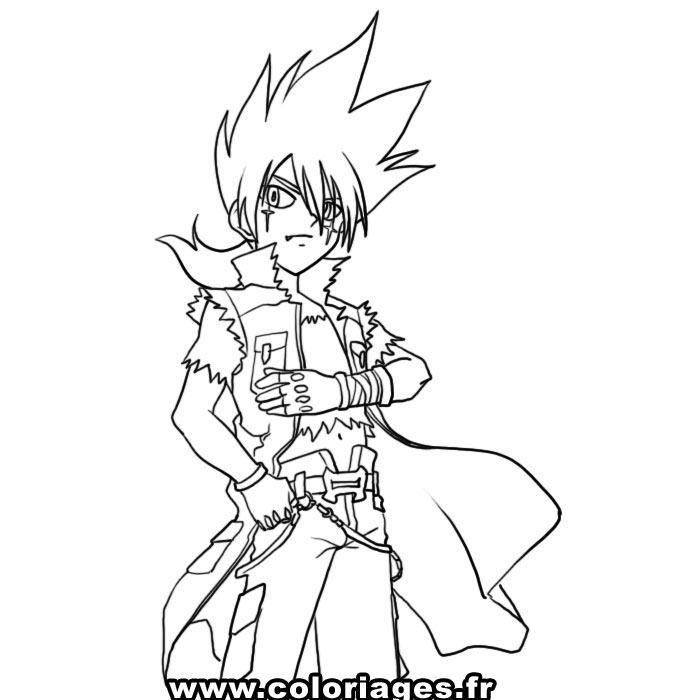 beyblade coloring pages gingka - photo#26