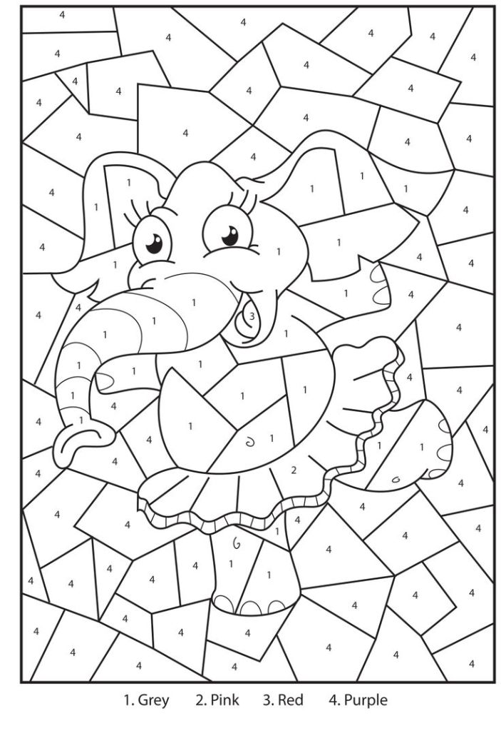 coloring by numbers addition printables free coloring pages for kids az dibujos para colorear