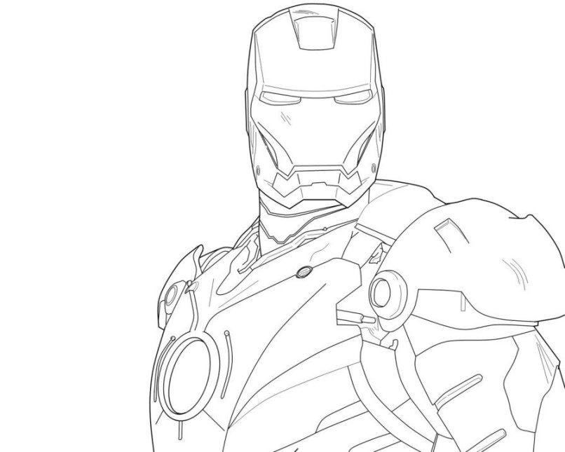 Iron-man-flying-coloring-pages-2 | Ace Images - AZ Dibujos para colorear