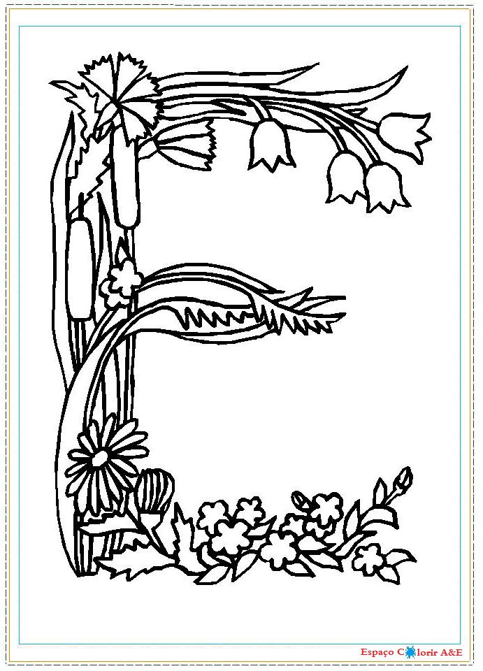 alfabeto pt a través de Colouring Pages (page 3)