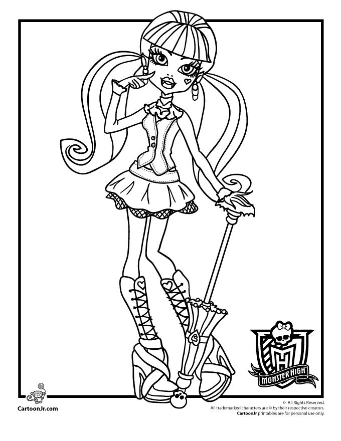 Eu Amo as Monster's High // oficial: Tudo sobre a Draculaura!!!