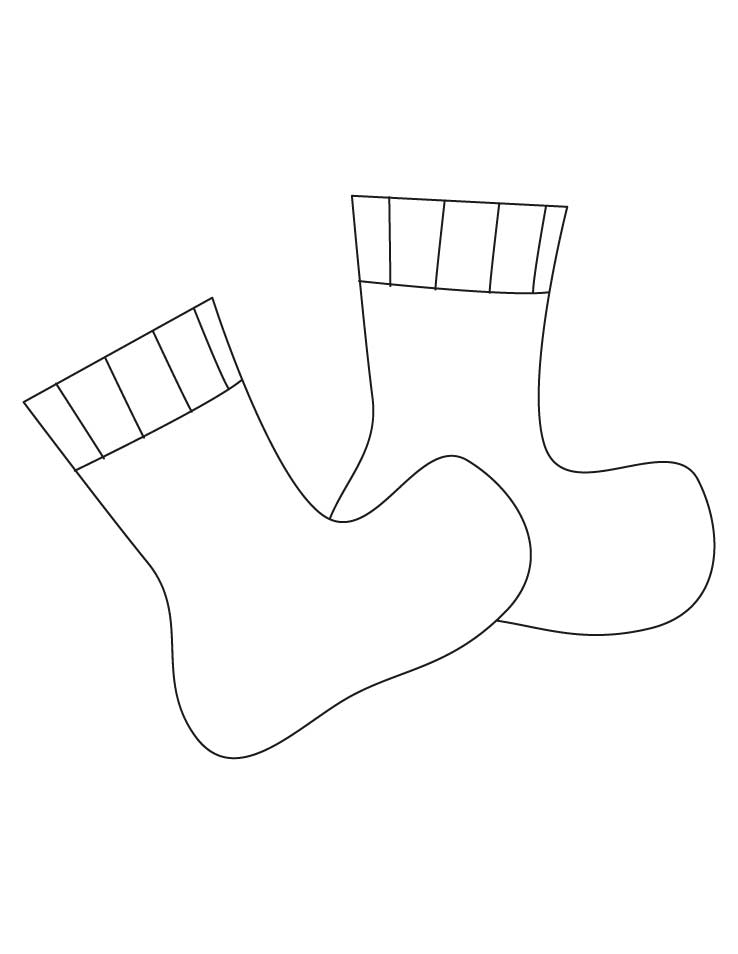 goldie socks page coloring pages. Black Bedroom Furniture Sets. Home Design Ideas