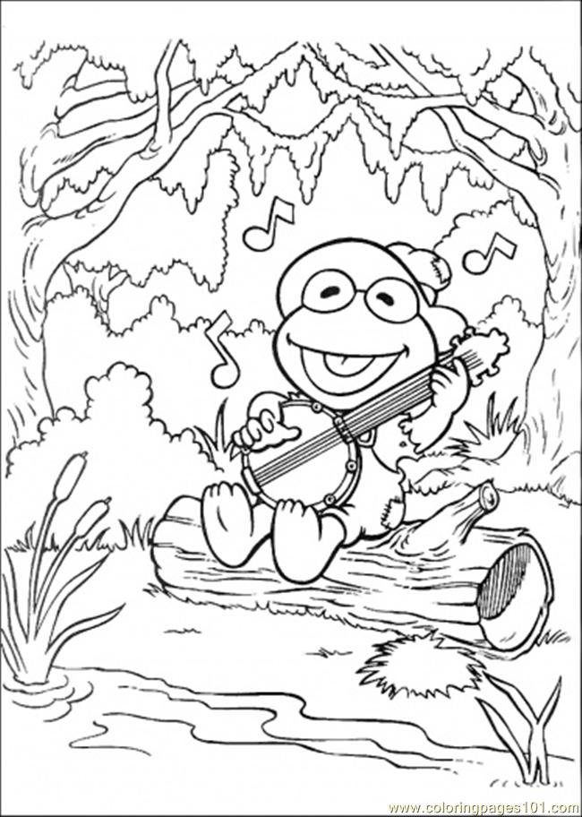 e muppet Colouring Pages (page 2)