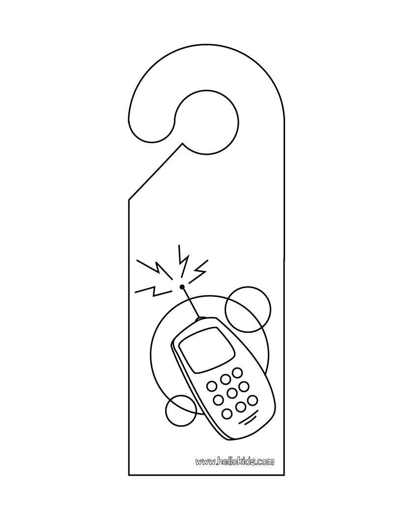 nail tech coloring pages - photo #14