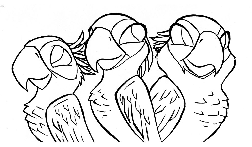 Rio 2 Coloring Pages To Print Bltidm
