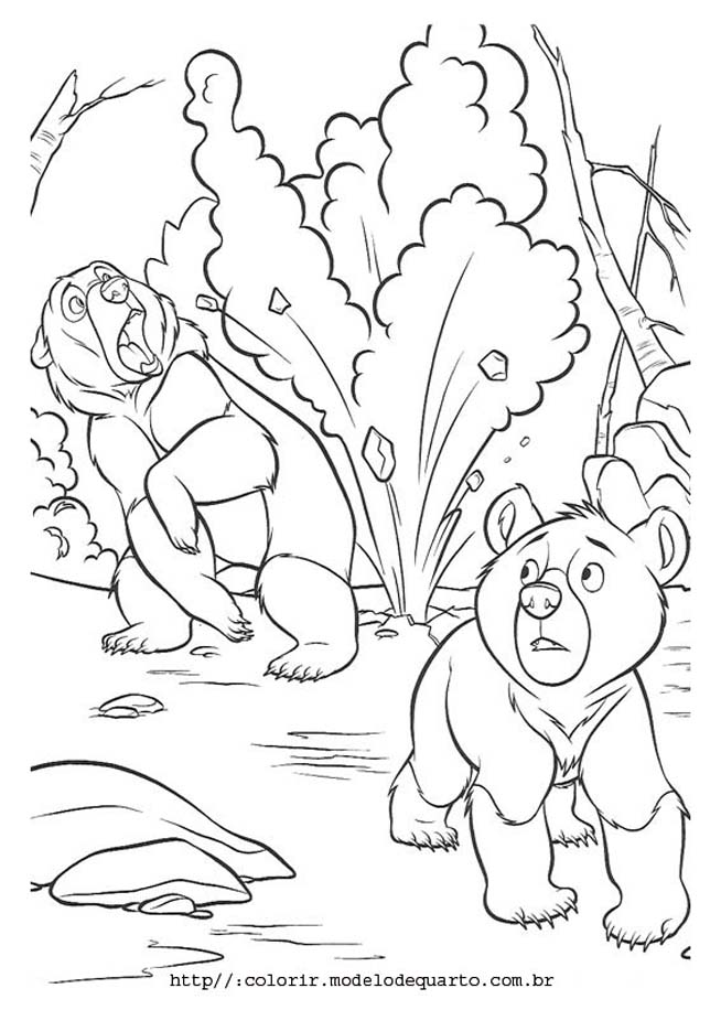 Alphabet do Urso Colouring Pages (page 2)