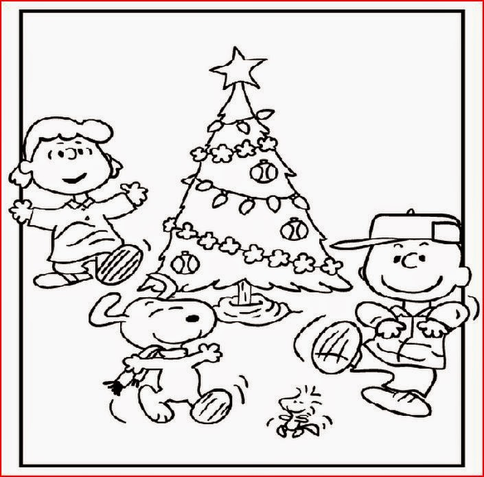 Coloring Pages: Charlie Brown Christmas Coloring Pages And Clip Art ...
