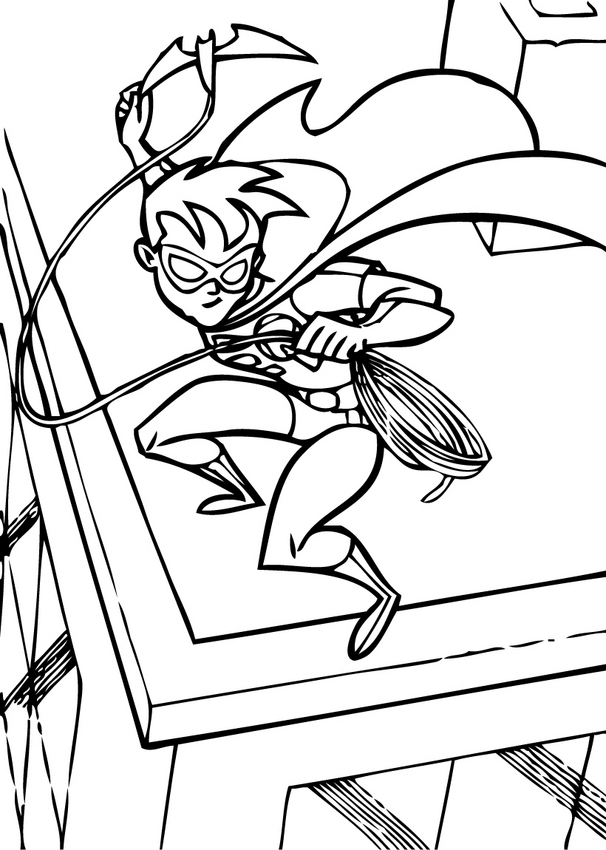 batman coloring pages online games - photo#13