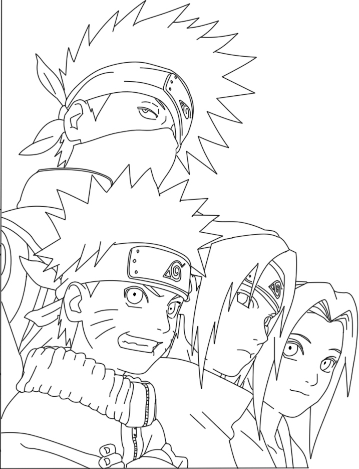 with rasengan coloring pages