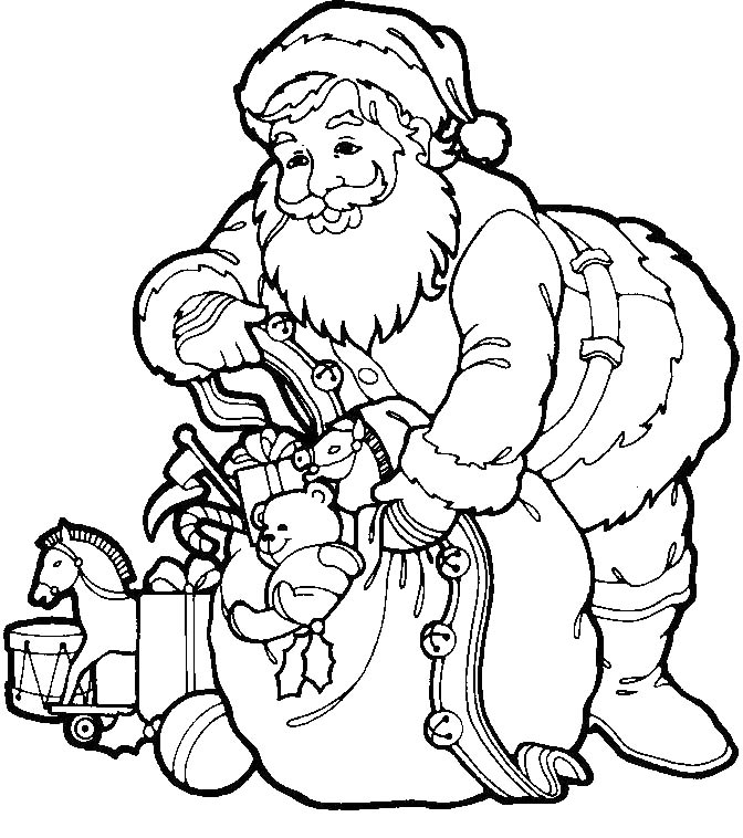 Giving presents colouring pages for Giving coloring pages