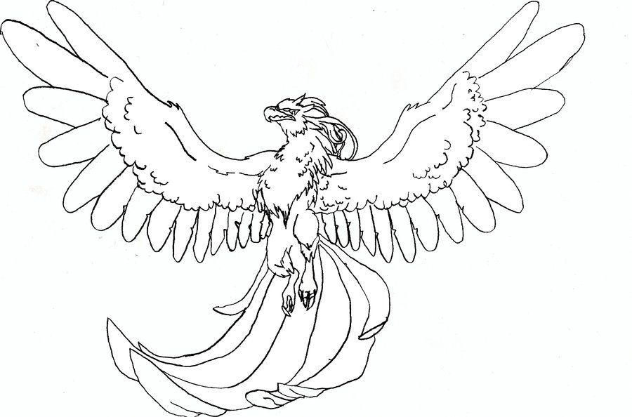 DeviantART: More Like Griffin Coloring Page By TabLynn - AZ Dibujos ...