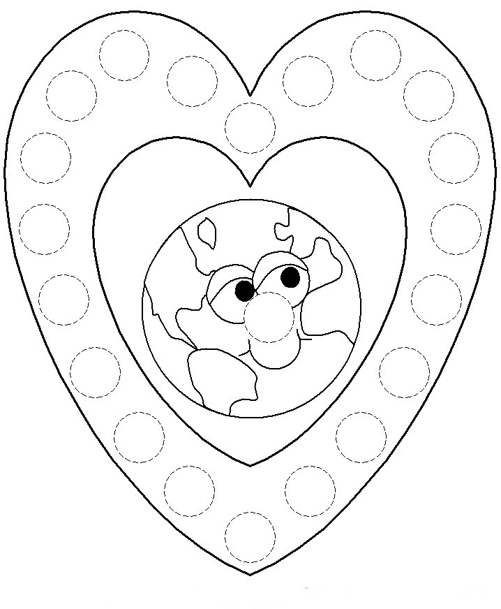 coloring pages for eco friendly - photo#12