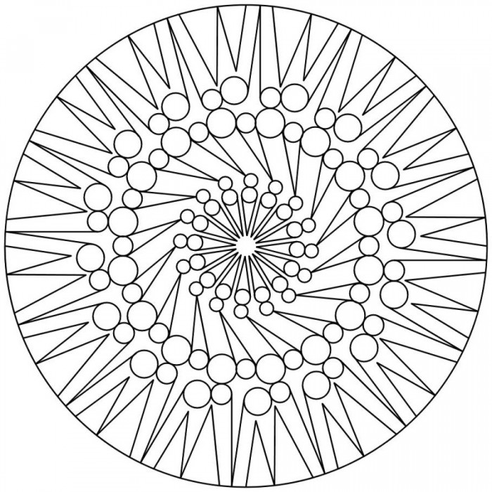Mandala Coloring Pages Expert Level - Symbol Coloring ...