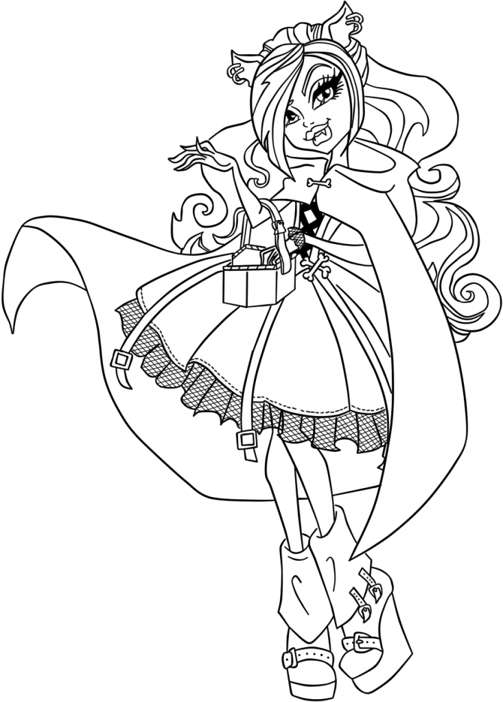 High might color az dibujos para colorear for Ever after high coloring pages