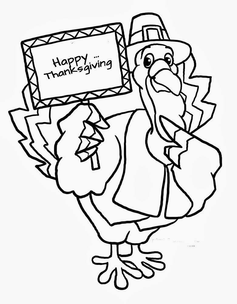 Cute Turkey Coloring Pages For Thanksgiving Day Creative Az