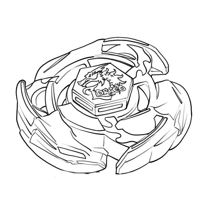 beyblade melego starwars colouring pages  page 2