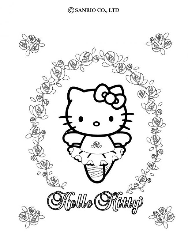 Hello Kitty Coloring Pages That You Can Color On The Coloring Pages You Can Color On The Computer For Adults