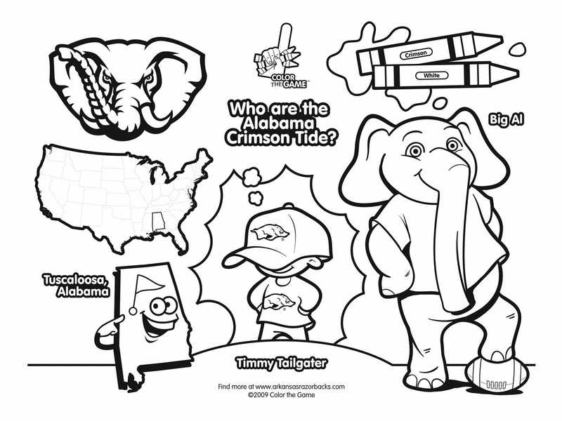 College football coloring pages az dibujos para colorear for College football coloring pages